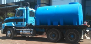 Blue Water Cartage  water tank fill delivery