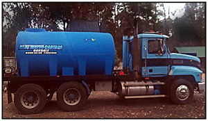 Blue Water Cartage supply Camden MacArthur Area community providing clean clear tank water